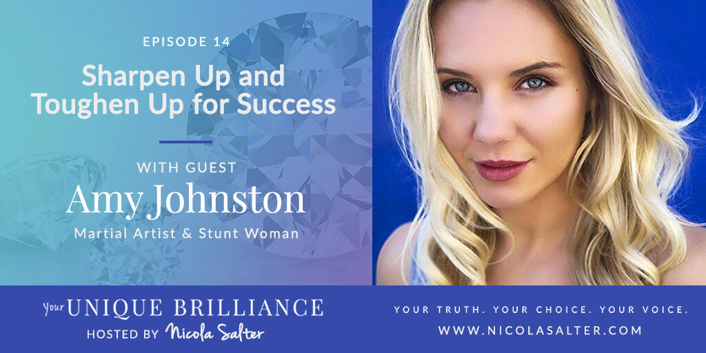 Amy Johnston on Your Unique Brilliance Podcast with Nicola Salter